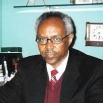 Reverend Tekie Mebrahtu