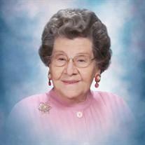 Mrs. Doris Amanda Toulson Conley
