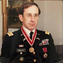 """Lt. Col. """"Ret."""" Ronald Rowlette"""