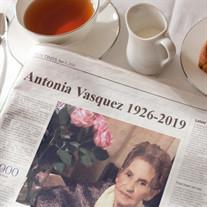 Antonia R. Vasquez