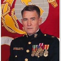 Major Charles B Plowman USMC