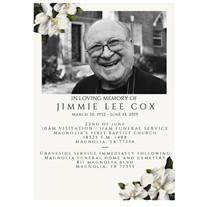 Mr. Jimmie Lee Cox