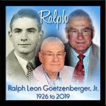 Ralph Leon Goetzenberger  Jr.