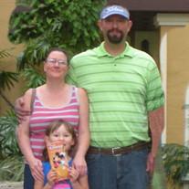 Justin, Amanda, Kendall Langdon Committal Service