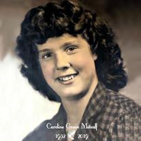 Caroline Grace Metcalf