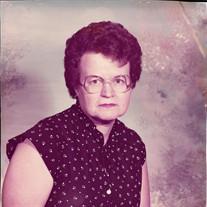 Mrs Ruby Baker Faircloth