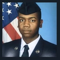 Chancelor Jamar Williams, A1C, USAF