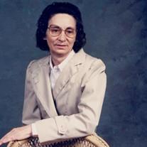 Bertha Mae Goforth