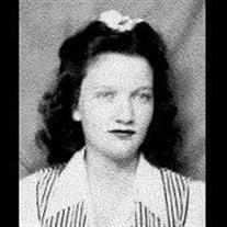Mrs. Suzanne Chatham Alexander Sanders