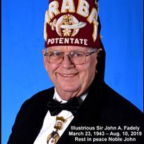 John Alvin Fadely