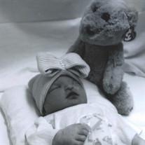 Infant Akylie Faith  Holder