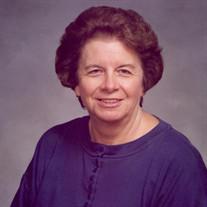 Mrs. Jo Dell Tedford Parker
