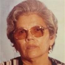 """Guadalupe """"Lupe"""" G. Ramirez"""