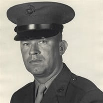 William Addison Marsh, USMC MGySgt - ret.
