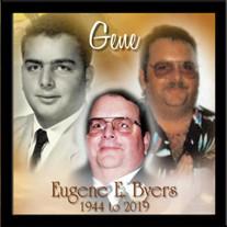 """Mr. Eugene  E. """"Gene"""" Byers"""