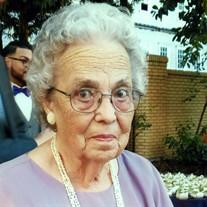 Mrs. Delores Mae Townsend  Tillman