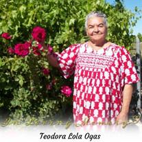 "Teodora ""Lola"" Ogas"