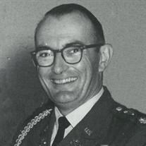 LTC, James Frederick McFarland, Army, Ret.