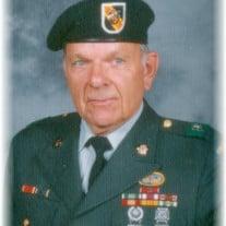 Sfc Billy K. Williams, US Army Retired