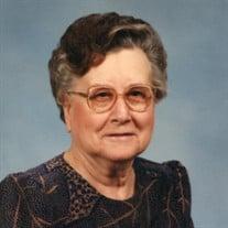 Mrs. Sadie Ruth Bishop Hendrick