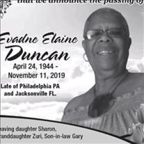 Evadne Elaine Duncan