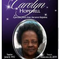 Ms.  Carolyn  Hopewell