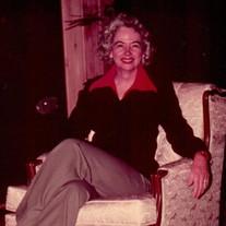 Betty Joe Crosswy McQuagge