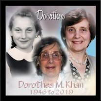 Dorothea M. Khan