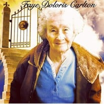 Faye Doloris (Armstrong) Carlton