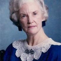 Gladys Louise (Billye) Duckworth