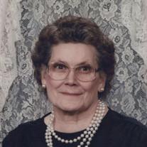 Mrs. Dorothy M. Amoss