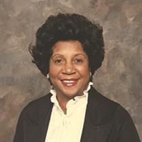 Mrs. Mildred Moses Singleton