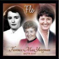 "Florence ""Flo"" Mae (Jones) Yungman"
