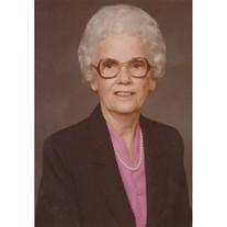 Flora Ann Bowden