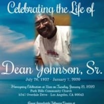 Mr Otha Dean Johnson Sr
