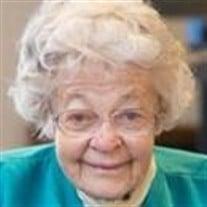 Sister Jean Hunter RSCJ
