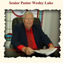 Rev. Wesley Marrell Luke