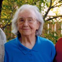 Mrs. Hester Josephine Boos