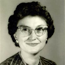 Eunice Nellie McCoury