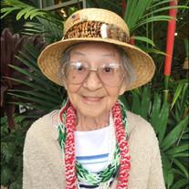 """Elizabeth Gam Ho """"Betty"""" Masaki"""