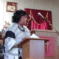 Evangelist Irene Lee Hardmon