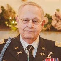 Ret. Major Donald Frederick Best Jr.