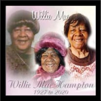 Willie Mae Hampton