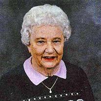 """Bertha """"Berdi"""" A. Foster"""