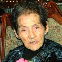 "Florencia Villasana Villanueva ""Abuela Flor"""