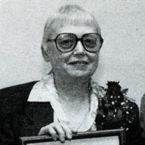"""Dorothy Ann """"Dot"""" Redford"""