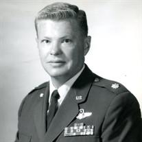 Lt Col Nils Arthur Ohlson, Sr. USAF, Ret.