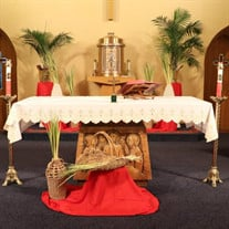 St. Edmond's Catholic Church Streaming Mass Palm Sunday