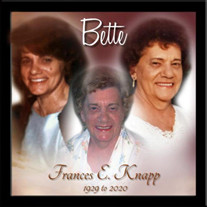 "Frances ""Bette"" E. Knapp"
