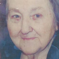Anita Mae Bench